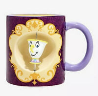 Disney Beauty And The Beast Belle Chip Ceramic 20oz. Spinner Mug