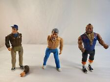 """Vintage 1983 A-Team B. A. Baracus (Mr. T) 6"""" Action Figure Plus Ex"""