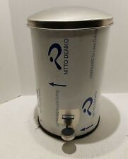 Rubbermaid Commercial Products 3.5-Gal Defenders Small Round Step Can-ST35SSGL