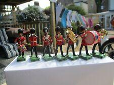 BRITAINS SOLDIERS METAL BANDSMEN LOT 1 EXCELLENT CONDITION