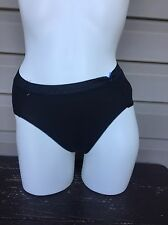 JOCKEY PERFECT FIT PROMISE HIPSTER LOW BRIEF PANTY BLACK #1401 7/X LARGE NEW $11