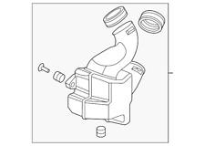 Genuine Honda Chamber Assembly Resonator 17230-RN0-A01
