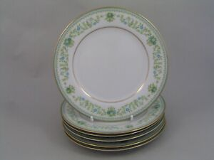 "SET OF SIX NORITAKE SPRING MEADOW 6 3/8"" SIDE PLATES."