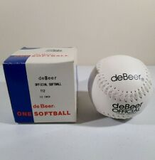 De Beer One Softball Cork Center T12 Cor. 50 Official 12 Inch - Open Box