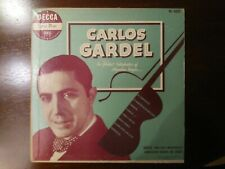 "Carlos Gardel-The Greatest Interpreter Of The Argentina Tangos(US 10""  DL-223 )"