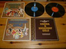 CINEMA & BROADWAY GOLD LONDON PHILHARMONIC ORCHESTRA ALBUM VINYL RECORD LP EX/NM