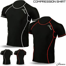 Half Sleeve Running Activewear for Men with Compression