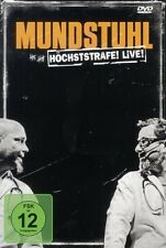 "MUNDSTUHL ""HÖCHSTSTRAFE LIVE"" DVD COMEDY NEU"