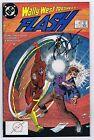 Flash #15 VF Signed w/COA by Barbara Randall Kesel 1988 DC Comics