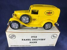 B3-7 ERTL 1932 PANEL DELIVERY BANK - 1:25 SCALE - PENNZOIL LUBRICANTS GAS / OIL