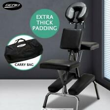 Portable Massage Tattoo Chair - Aluminium - Black  Aluminum Frame Adjustment