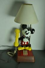 Mickey Mouse Telephone & Lamp