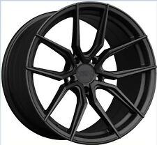 XXR 559 18x8.5 5x114.3 +20 Flat Graphite Rims Set of (4) Brand New