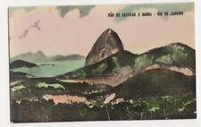 Brazil, Rio De Janeiro, Pao De Assucar E Barra, Tinted RP Postcard, B198