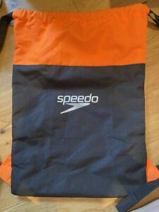 SPEEDO POOL BAG SWIMMING 15L WET GYM KIT POUCH HOLDALL WATERPROOF SWIM BACKPACK