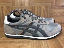 RARE🔥 Asics Gel-Corrido Retro Trainers Men's Size 12 Gray Orange H021L Running