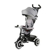 Kinderkraft Dreirad ASTON Kinderdreirad Freilaufrad GREY