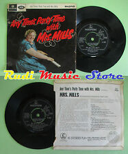 """LP 45 7"""" mrs mills party... any time's Party Time 1965 GT Britain No CD MC"""