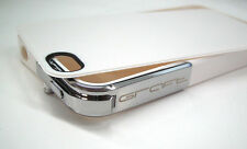 GRAFT CONCEPTS Leverage iPhone 4/4S Case - WHITE w/ CHROME Latch NWOB Bumper