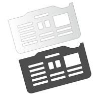 Schutzfolie für DeLonghi PrimaDonna Exklusiv Tassenablage ESAM 6900 & 6850 # 2