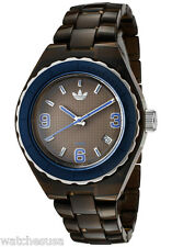 Adidas Women's Mini Cambridge Brown Plastic Band Date ADH2549 Watch 35mm
