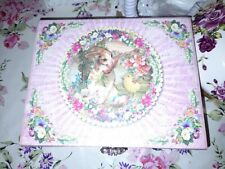 Punch Studio Kitsch Cute Rabbit Chick Pink Jewel Storage Box