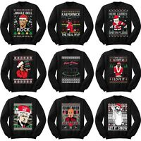 Ugly Christmas Sweaters Funny Holiday Humor Sweatshirts Various Party Designs!