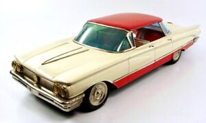 "1960 Buick Invicta 17.5"" 4-Door Hardtop Japanese Tin Car by Ichiko NR"