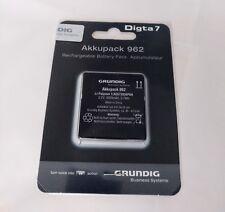 Grundig Akkupack 962, original, neu, OVP, für Grundig Digta 7 Serie