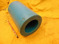 BLUE NYLON TUBE plastic round pipe bushing stock 5 3/8