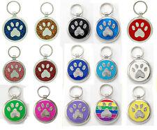 Pet Tags Dog Tags Custom Pawprint Dog Collar Id Pet ID Tag Dog Tag Personalised