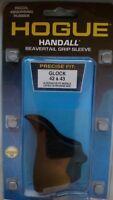 Hogue HANDALL Beavertail Grip Sleeve for Glock 42 & Glock 43 Black 18200 NEW