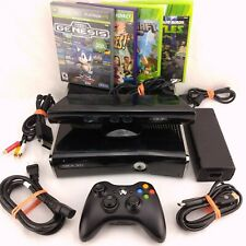 Microsoft Xbox 360 S 250GB with Kinect, Controller, & 4 Family/Kids Games