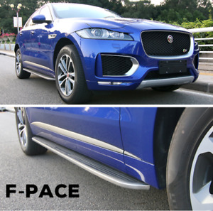 fits for Jaguar F-Pace F pace 2016-2019 running board side step Nerf bar