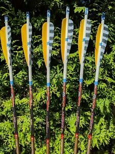 Easton Legacy Arrows, 1916, 2016, 2018, 2117, 2216, or 2219, 6 Pack