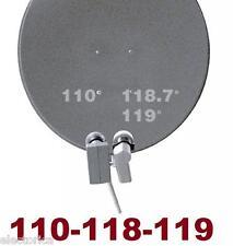 33 INCH SATELLITE SUPER DISH NETWORK LNB 110-118-119 HD FTA DSS 118.7 SAT PLUS