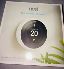 Nest Learning Thermostat, 3rd Generation, White Brand New Sealed
