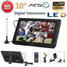 "10"" Inch Portable TFT-LED Digital TV Video Player ATSC 1080P HD-MI/USB/VGA/AV/TF"