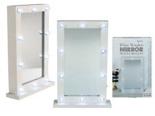 LED Specchio Bianco in piedi da toeletta SPECCHIO TRUCCO HOLLYWOOD CHIC San Valentino Regalo