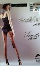 GABRIELLA LINETTE BLACK SEAMED SEXY TIGHTS SIZES SMALL OR LARGE CHEAPEST ONEBAY
