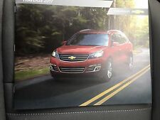 2017 CHEVY TRAVERSE 24-page Original Sales Brochure