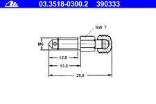 Entlüfterschraube/-ventil - ATE 03.3518-0300.2