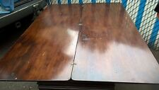 Jacobean Style Refectory Hidden Drawer Inlaid Expandable Table Walnut