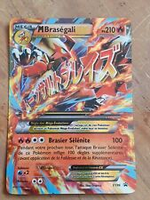 Carte Pokemon Méga Braségali EX PROMO XY86 neuve FR
