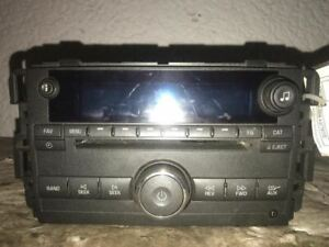 Radio CD Player 08 2008 Buick Lucerne 25887589