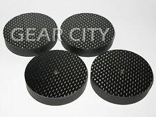 4x nbpx4 50x10mm haut-parleur fibre de carbone cône spike Pad isolement base pieds hifi