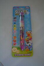 Scentos Fruit Scented Rainbow Ink Pen 10 Colors Season One School Supplies Nip
