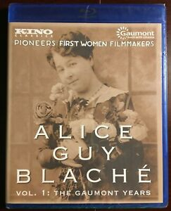 ALICE GUY BLACHE Volume 1: The Gaumont Years [Blu-ray]  SEALED