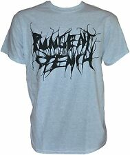 PUNGENT STENCH - Black-Logo - Grey-Gildan-T-Shirt - M / Medium - 164139