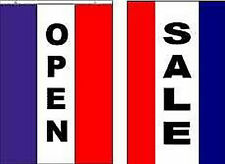 Open Sale Flags/Banner/Signs. Same Day Ship.